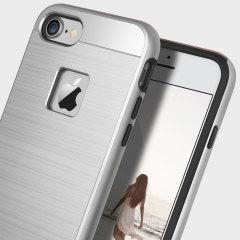 Obliq Slim Meta iPhone 7 Case Hülle in Silber Titanium