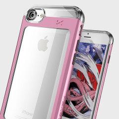 Ghostek Cloak 2 Series iPhone 7 Tough Hülle Klar / Pink