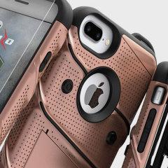 Zizo Bolt Series iPhone 7 Plus Tough Case Hülle & Gürtelclip Rosa Gold