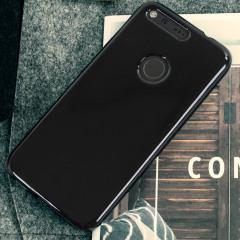 Olixar FlexiShield Google Pixel Gel Case - Solid Black