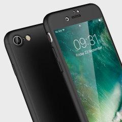 Olixar X-Trio Full Cover iPhone 7 Case - Black