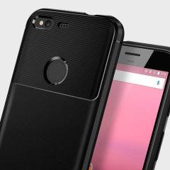 Spigen Rugged Armor Google Pixel Tough Case - Black