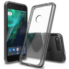 Rearth Ringke Fusion Google Pixel XL Case - Smoke Black