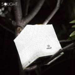 Solight Solar Puff Portable Solar Powered Lantern - Bright White