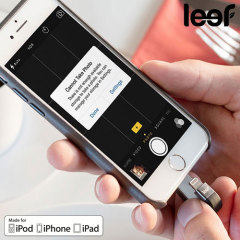 Leef iBridge 3 32GB Mobile Storage Drive for iOS Devices - Black