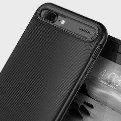 Caseology Wavelength Series iPhone 8 Plus / 7 Plus Hülle Matt Schwarz