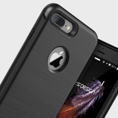 VRS Design Duo Guard iPhone 8 Plus / 7 Plus Case - Black