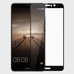 Olixar Edge to Edge Huawei Mate 9 Panzerglass in Schwarz
