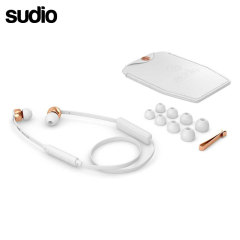 Sudio VASA BLA Bluetooth In Ear Headphones - White / Rose Gold