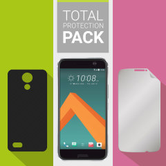 Olixar Total Protection HTC 10 Case & Screen Protector Pack