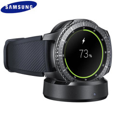 Official Samsung Gear S3 Wireless Charging Dock - Black
