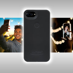 LuMee Two iPhone 7 Plus / 6S Plus / 6 Plus Selfie Light Case - Black
