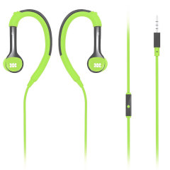 Promate Natty In-Ear Sports Headphones with Ear Hooks - Green