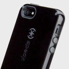 Speck CandyShell Grip  iPhone SE Hülle in Klar / Gold Glitzer