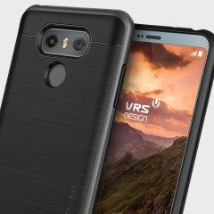VRS Design High Pro Shield LG G6 Case Hülle - Dunkles Silber