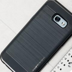 VRS Design High Pro Shield Samsung Galaxy A5 2017 Case - Steel Silver