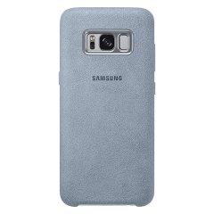 Official Samsung Galaxy S8 Plus Alcantara Cover Case - Mint