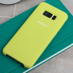 Official Samsung Galaxy S8 Silicone Cover Case - Green