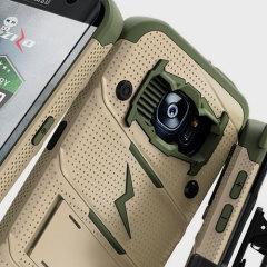 Zizo Bolt Series Samsung Galaxy S7 Edge Tough Hülle & Gürtelclip - Desert Camo