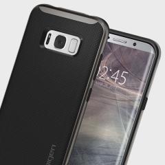 Spigen Neo Hybrid Case Samsung Galaxy S8 Hülle- Gunmetal