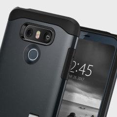 Spigen Slim Armor Case LG G6 Hülle - Metal Slate