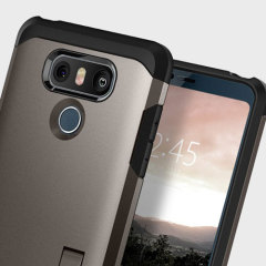 Spigen Tough Armor LG G6 Tough Case Hülle - Gunmetal