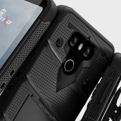 Zizo Bolt Series LG G6 Tough Case & Belt Clip - Black
