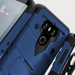 Zizo Bolt Series LG G6 Tough Hülle & Gürtelclip - Blau
