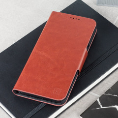 Olixar Samsung Galaxy S8 Plus WalletCase Tasche in Braun