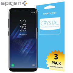 Spigen Samsung Galaxy S8 Plus Film Crystal Screen Protector (3 Pack)