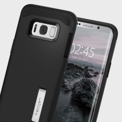 Spigen Slim Armor Case Samsung Galaxy S8 Plus Hülle in Black
