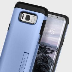 Spigen Tough Armor Samsung Galaxy S8 Plus Tough Case Hülle -  Blau