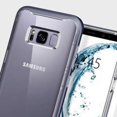 Spigen Neo Hybrid Crystal Case Samsung Galaxy S8 Plus Hülle - Violet