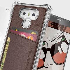 Ghostek Exec Series LG G6 Wallet Case - Brown