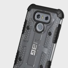 UAG Plasma LG G6 Protective Schutzhülle Eis / Schwarz