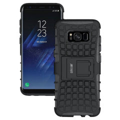 ArmourDillo Samsung Galaxy S8 Plus Protective Case in Schwarz