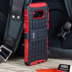 ArmourDillo Samsung Galaxy S8 Plus Protective Case in Rot
