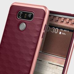 Caseology Parallax Series LG G6 Case - Burgundy