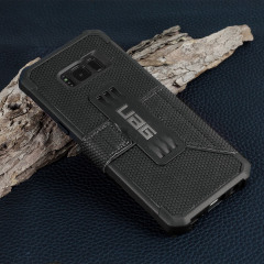 UAG Metropolis Rugged Samsung Galaxy S8 Plus Wallet case Tasche in Schwarz