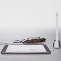 Belkin Aluminium Base Stand For Apple Pencil - Chrome