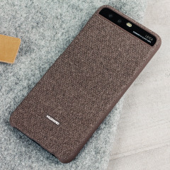 Original Huawei P10 Fabric Hülle in Braun