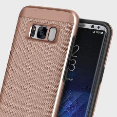 Obliq Slim Meta Samsung Galaxy S8 Case Hülle- Rose Gold