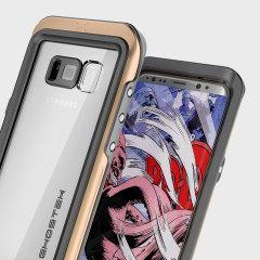 Ghostek Atomic 3.0 Samsung Galaxy S8 Waterproof  Case - Gold