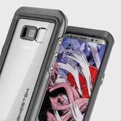 Ghostek Atomic 3.0 Samsung Galaxy S8 Wasserdichte Tasche - Schwarz