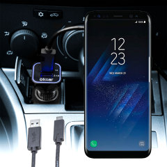 Olixar High Power Samsung Galaxy S8 Car Charger