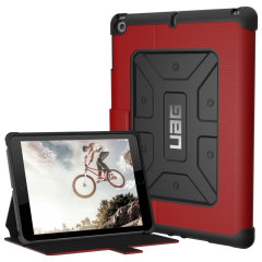 UAG Metropolis Rugged iPad 9.7 Wallet case Tasche in Magma Rot