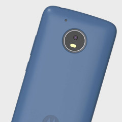 Official Motorola Moto G5 Plus Silicone Cover - Blue