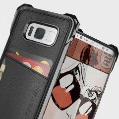 Ghostek Exec Serie Samsung Galaxy S8 Plus Schutzetui - Schwarz