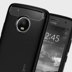 Spigen Rugged Armor Motorola Moto G5 Plus Tough Case - Black