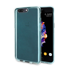 Olixar FlexiShield OnePlus 5 Gel Case - Blue